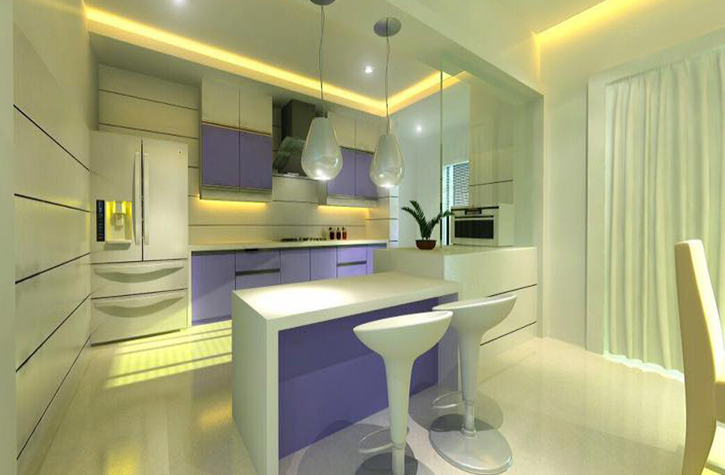 Modular kitchen Bangalore,Acrylic kitchen shutters in bangalore,Complete interior solutions in bangalore